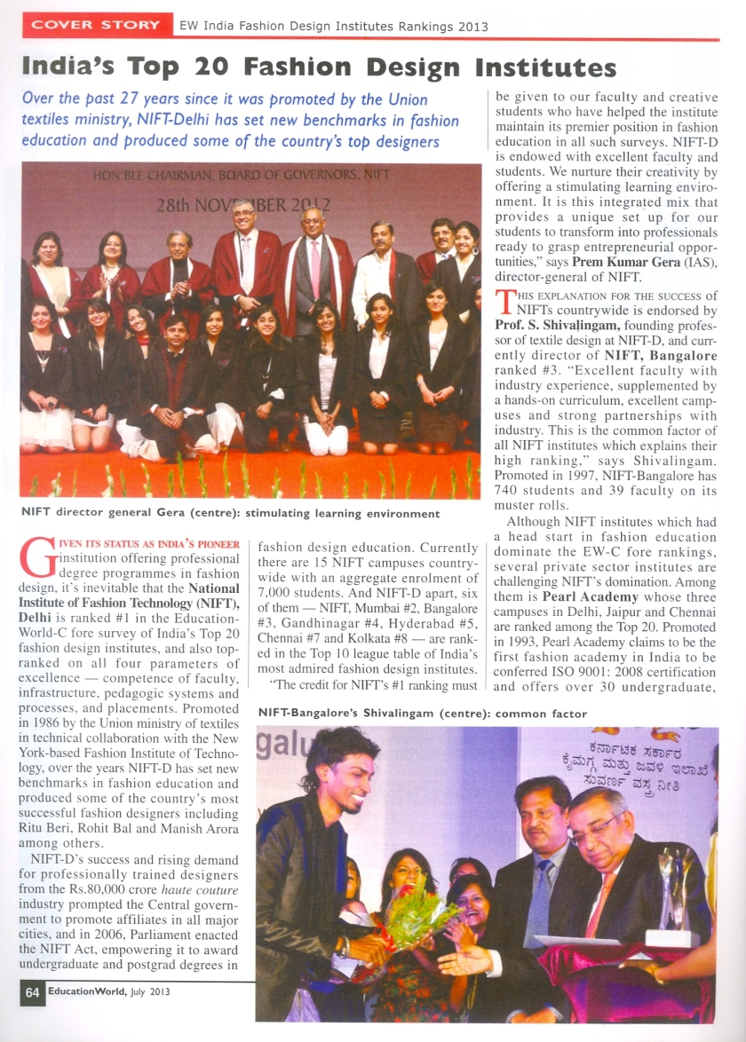 PA NEWS EDUCATION WORLD JULY 2013 P  64