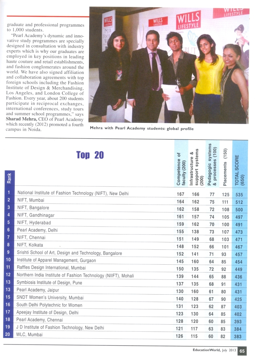 PA NEWS EDUCATION WORLD JULY 2013 P 65