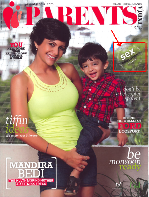 Parents India Cover-July issue