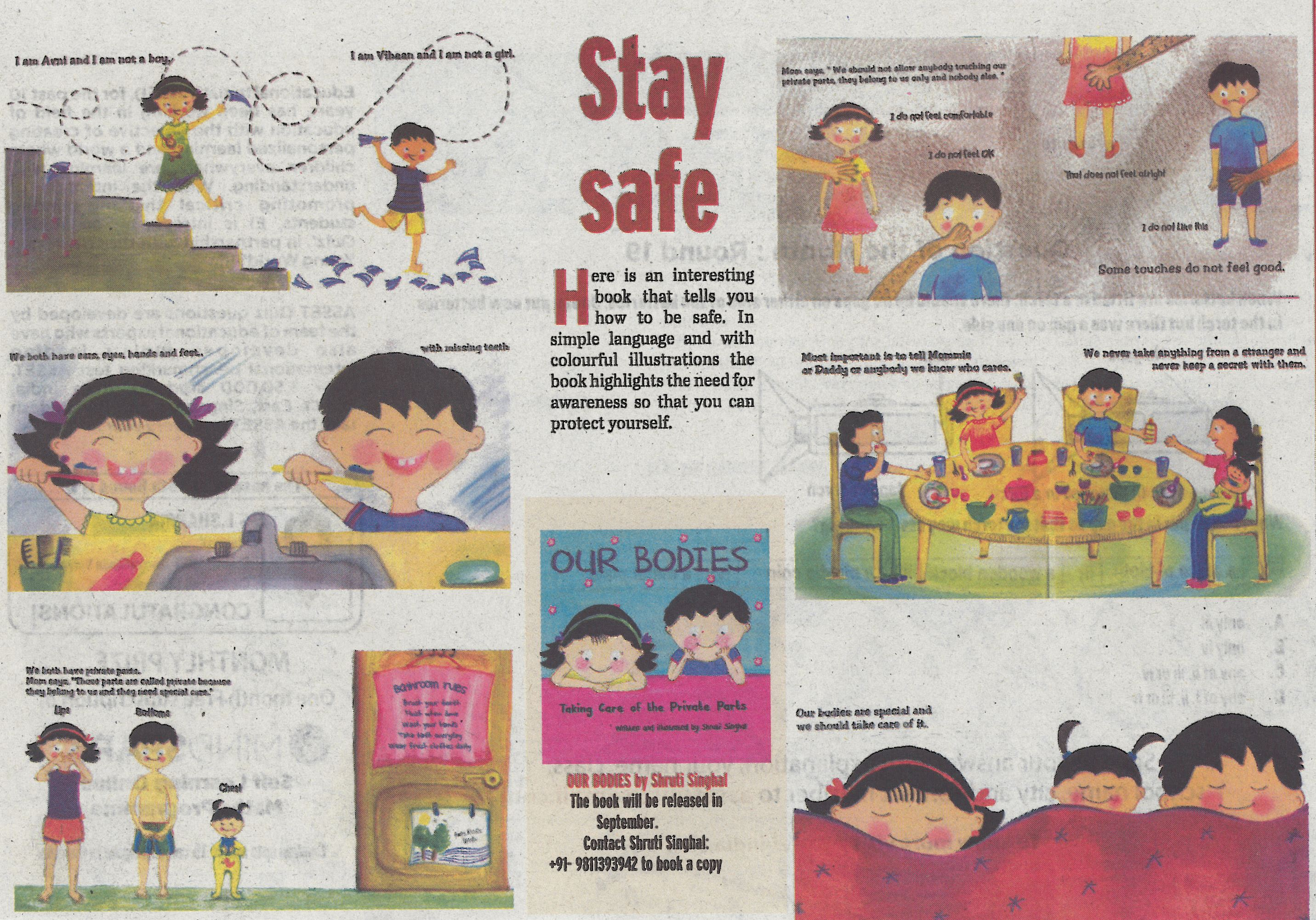 Interesting book that tells you how to be safeby student pearl interesting book that tells you how to be safeby student pearl academy solutioingenieria Image collections