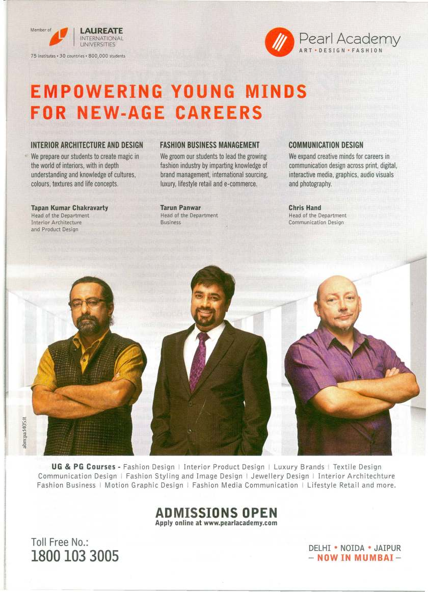 PA ADMISSIONS  INDIA TODAY 20-JAN-2014 P 9