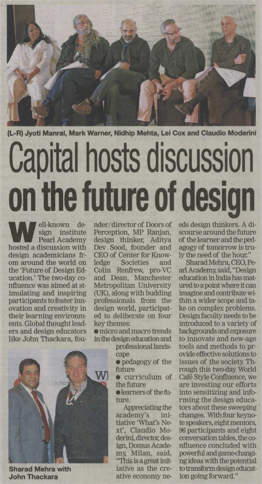 Times of India - What's Next_Confluence_22nd Dec, 2014