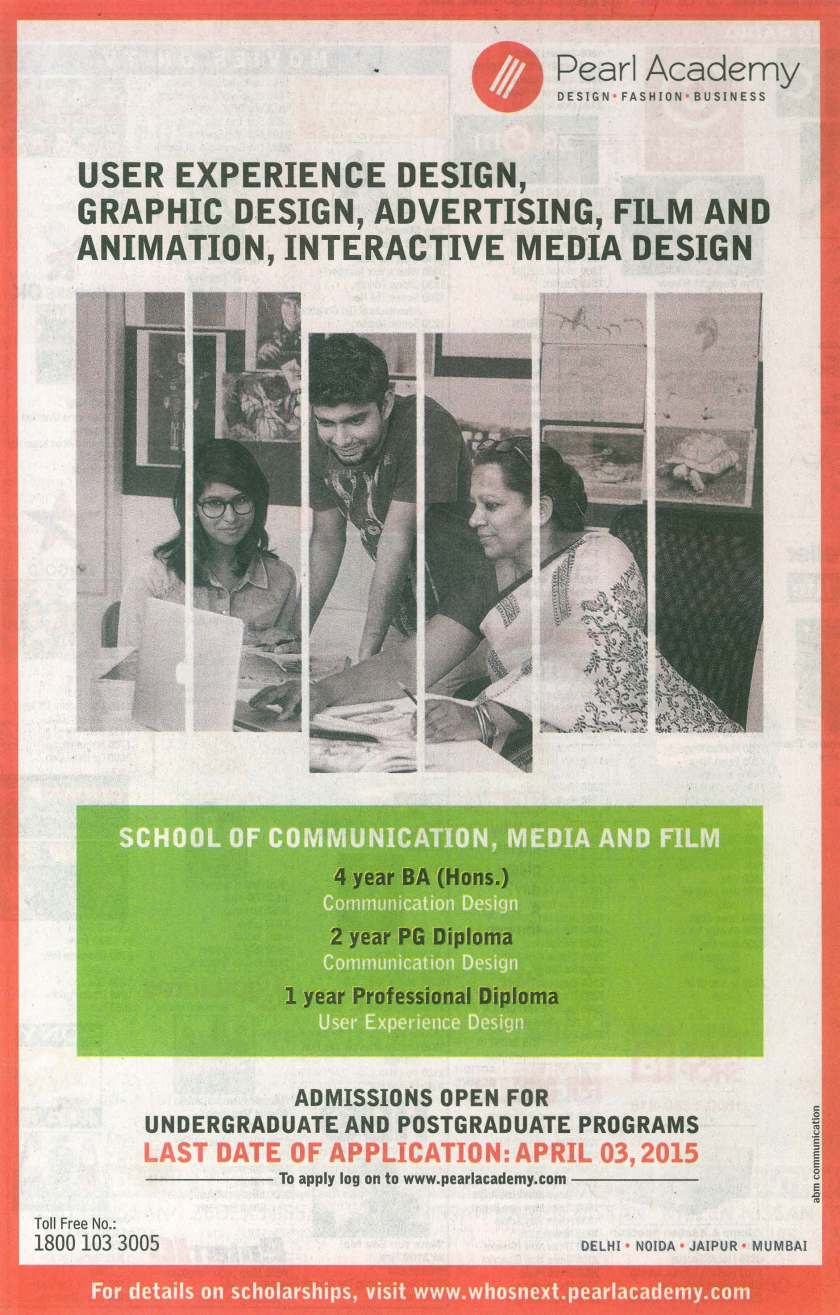 PA ADVERTISE TIMES OF INDIA 27-3-15 P 5